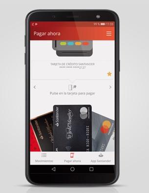 """ARTÍCULO: """"Santander permitirá pagar con una app y firma convenio con Amazon"""""""