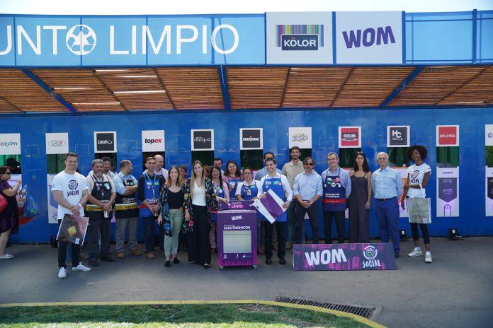 """ARTÍCULO: """"Sodimac y WOM inauguran espacios de reciclaje electrónico"""""""