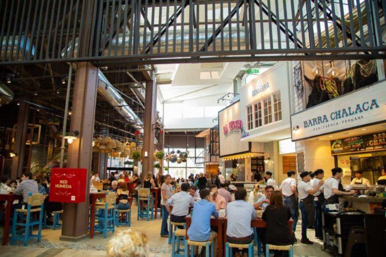 """ARTÍCULO: """"Parque Arauco inaugura Bazar Gourmet tipo """"food hall"""""""""""