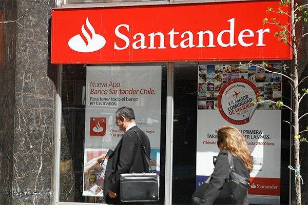 """ARTÍCULO: """"Santander apuesta por la economía chilena y centrará esfuerzos en colocaciones de consumo"""""""