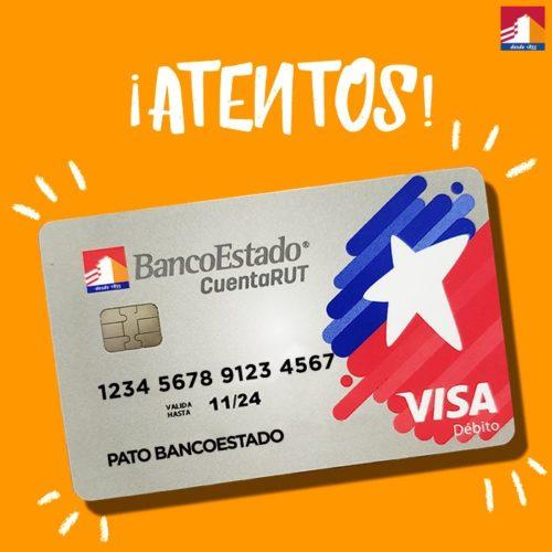 """ARTÍCULO: """"CuentaRut 2.0: BancoEstado anuncia oficialmente que tarjeta sirve para operaciones internacionales tras acuerdo con Visa"""""""