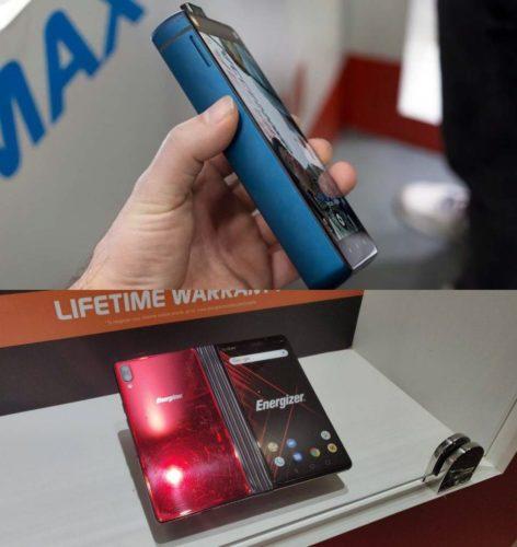 """ARTÍCULO: """"Energizer estrena el teléfono con la mayor batería del mundo y anuncia un celular plegable de bajo costo"""""""