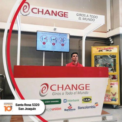 """ARTÍCULO: """"Unimarc y Mayorista10 implementan nuevo servicio para envíos de dinero al exterior"""""""