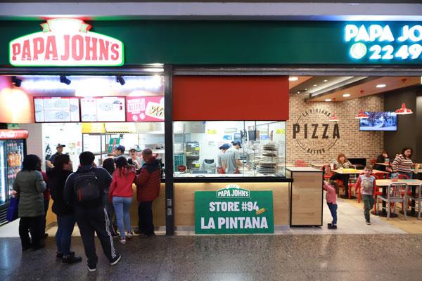 """ARTÍCULO: """"La historia detrás del aterrizaje de Papa John's en La Pintana"""""""