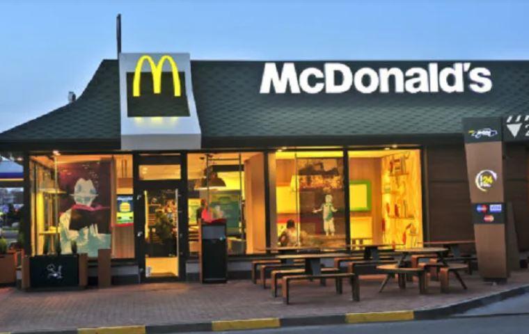 """ARTÍCULO: """"McDonald's reabre su icónico restaurant de Reñaca"""""""