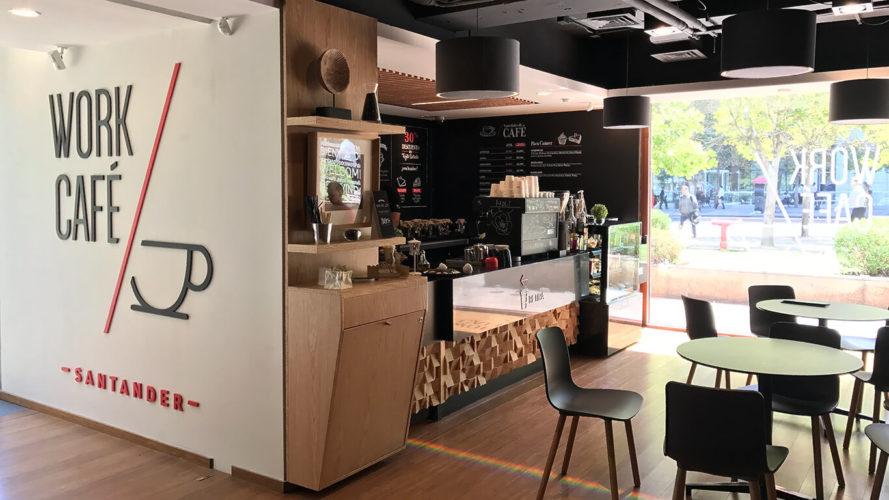 """ARTÍCULO: """"Work/Café de Santander: ingresos superan a sucursales tradicionales y modelo se exporta a EEUU"""""""