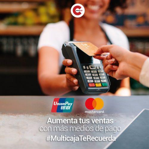"""ARTÍCULO: """"Competencia para Visa y Mastercard: gigante china UnionPay hace oficial su arribo al mercado chileno de medios de pago"""""""