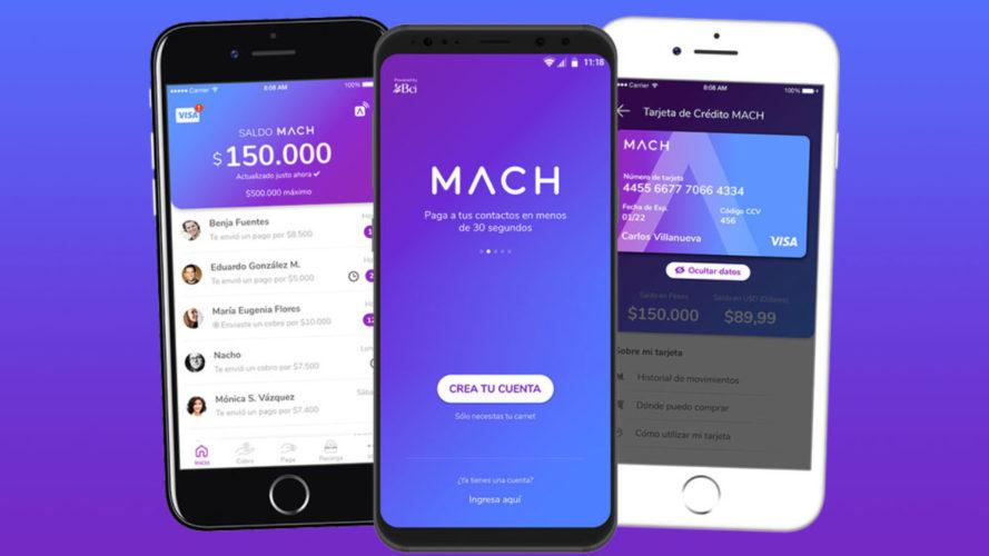 """ARTÍCULO: """"MACH de Bci sobrepasa los 2 millones de clientes"""""""