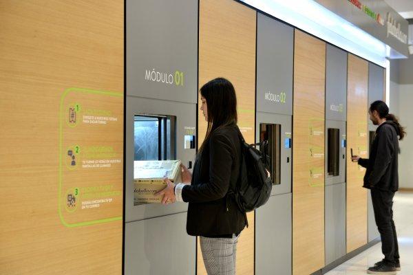 """ARTÍCULO: """"Falabella expande moderno sistema click and collect automático que permite retiro de productos en tiempo récord"""""""