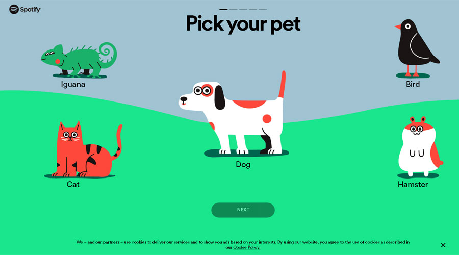 """ARTÍCULO: """"Spotify lanza listas de reproducción para mascotas"""""""