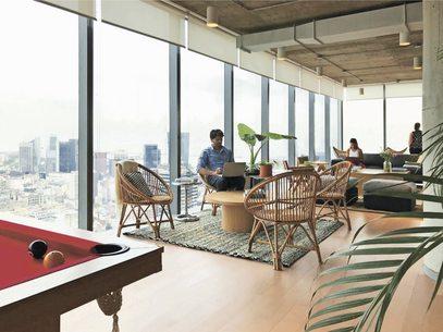 """ARTÍCULO: """"WeWork abrirá nuevo espacio en Vitacura y sumará cinco edificios en el país"""""""
