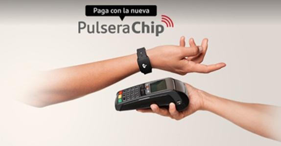 """ARTÍCULO: """"Banco Santander lanza pulsera chip para tarjetas de crédito"""""""