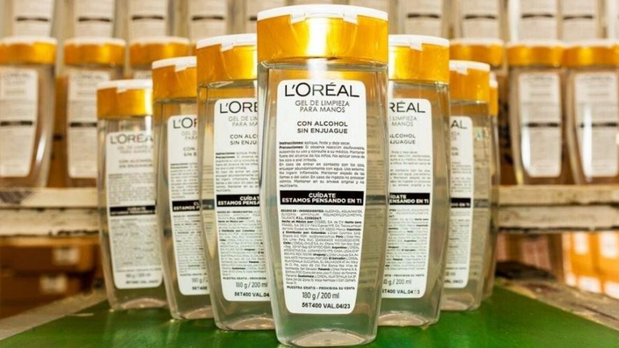 """ARTÍCULO: """"L'Oréal Chile continúa su lucha frente a la pandemia y anuncia nuevas medidas de apoyo"""""""