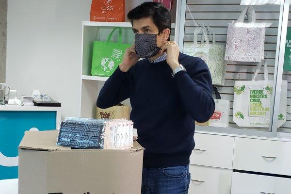 """ARTÍCULO: """"El giro de Unibag para enfrentar la pandemia: de bolsas reutilizables para eventos a mascarillas corporativas con cobre"""""""