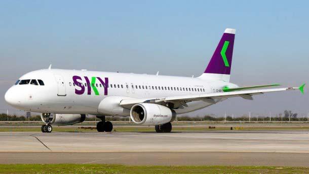 """ARTÍCULO: """"Sky inicia vuelos nacionales a seis regiones del país"""""""