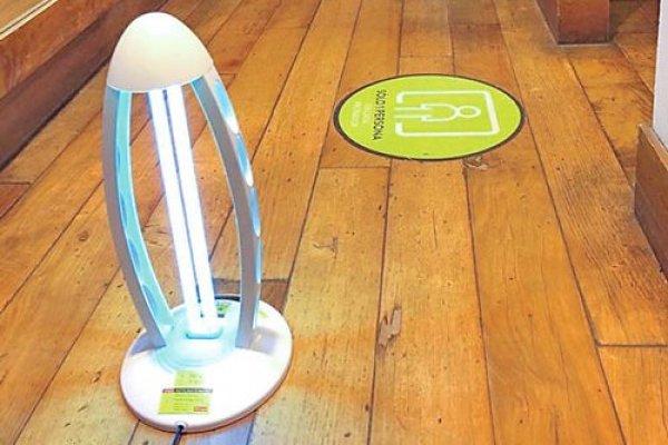 """ARTÍCULO: """"Luz ultravioleta, la última innovación de Falabella en sus tiendas contra el coronavirus"""""""